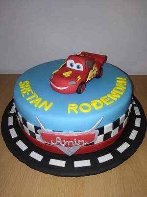 Cars bithday cake - Cake by Slatkaradionica-Amra