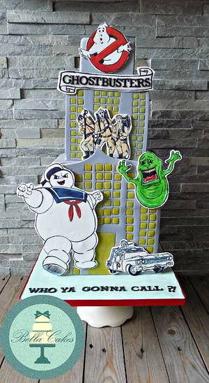 Ghostbusters - Cake by Bella Cakes
