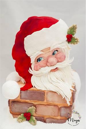 Santa Claus cake - Cake by Branka Vukcevic