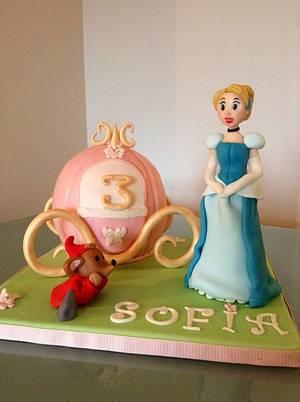 Cinderella cake - Cake by Eleonora Del Greco
