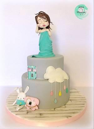 Bea's awakening - Cake by Silvia Mancini Cake Art