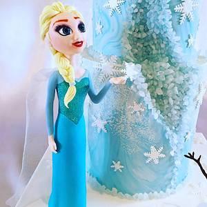 Frozen themed cake - Cake by Ritzy