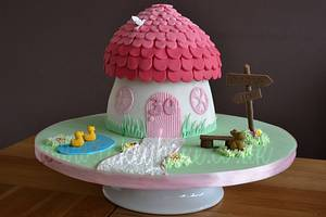Cottage Cake - Cake by CakeyBake (Kirsty Low)