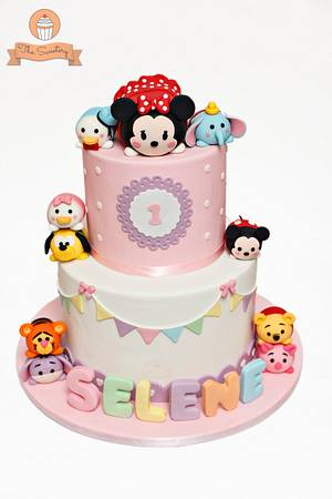 Tsum Tsums Cake - Cake by The Sweetery - by Diana