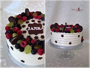Drip cake & fresh fruits - Cake by Tortolandia