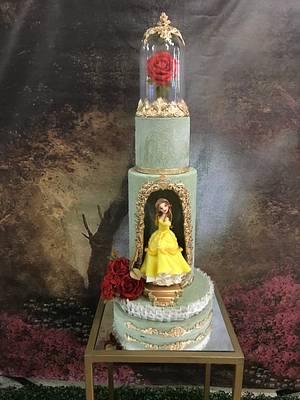 Bella y bestia - Cake by Griselda de Pedro