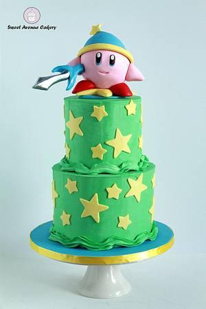 Kirby Cake - Cake by Sweet Avenue Cakery