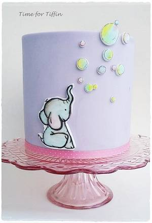 Ella the Elephant  - Cake by Time for Tiffin