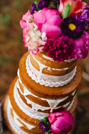 Polka Dot Bride.... - Cake by Sweet Bea's
