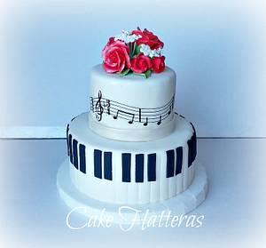 Recital Reception  - Cake by Donna Tokazowski- Cake Hatteras, Hatteras N.C.
