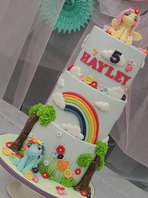 My Little Pony - Cake by Shereen