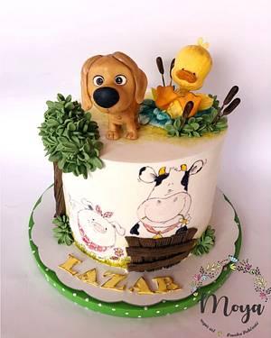 Farm animals cake - Cake by Branka Vukcevic