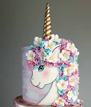 Miss Unicorn - Cake by Couture cakes by Olga