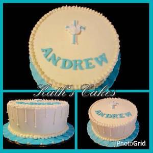 Confirmation Cake - Cake by Cakemummy