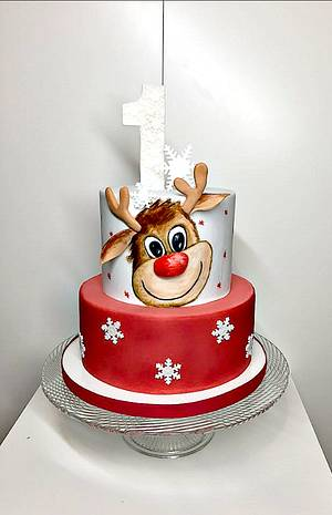 The reindeer for baby - Cake by Frufi