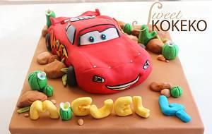 Lightning McQueen 3D Cake - Cake by SweetKOKEKO by Arantxa