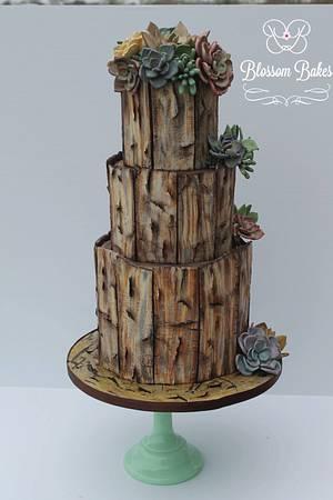 Desert Rose  - Cake by BlossomBakes