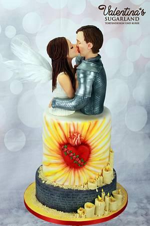Be My Valentine! movie nights Romeo & Juliet - Cake by Valentina's Sugarland