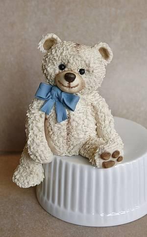 Teddy bear - Cake by Sannas tårtor