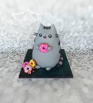 Cat Pusheen - Cake by Sofia veliz