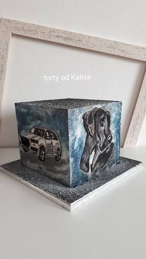 Birthday for a man - Cake by Kaliss