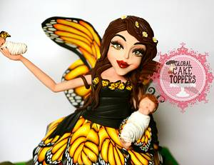 Butterfly Fairy  - Cake by GlobalCakeToppers