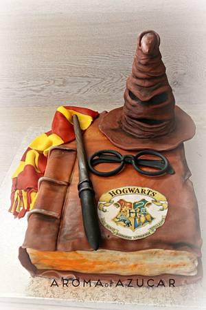 Harry Potter cake - Cake by Aroma de Azúcar