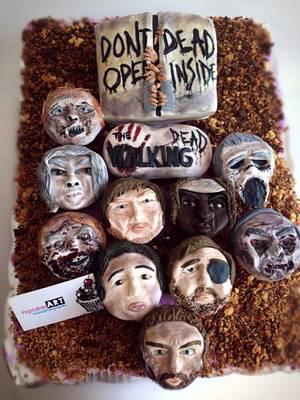 The walking dead (cupcakes) - Cake by Richi Barcenas