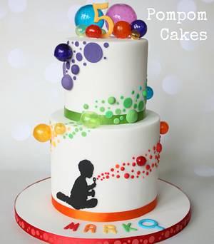 Bubbles bubbles bubbles - Cake by PompomCakes