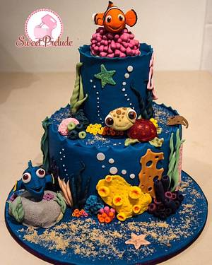 Nemo cake by Sweet Prelude - Cake by Sweet Prelude
