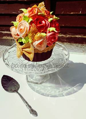 Giant cupcake  - Cake by DDelev
