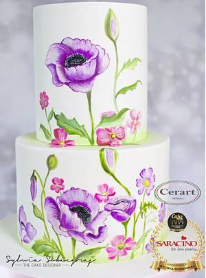 Summer bright cake - Cake by Sylwia Sobiegraj The Cake Designer
