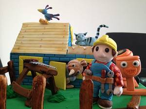 Bob the Builder  - Cake by Unusual cakes for you