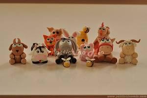 Farm Animals - Cake by Pasticcino Mio