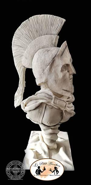 Leonidas - Greco Roman Challenge - Cake by LE PETIT BONBON