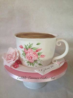 English Tea  - Cake by Edible Essence Cake Art
