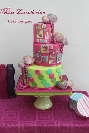 Fashion optical - Cake by Miss Zuccherina cake designer