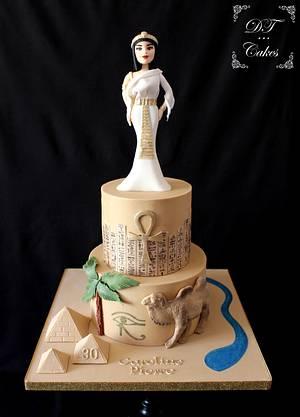 Egypt cake - Cake by Djamila Tahar (DT Cakes)