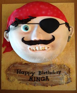 Mr Pirate - Cake by cakesbylucille
