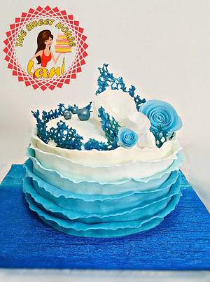 Tenderness in blue - Cake by Lani