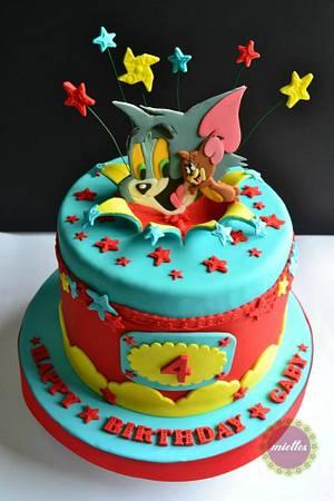 Tom & Jerry All-Star Birthday Cake - Cake by miettes