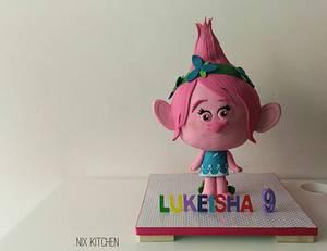 Princess Poppy 3D cake - Cake by Nikita Mahmood