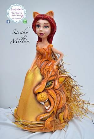 Reto zodiaco /challenge zodiac - Cake by Sarahy Millán