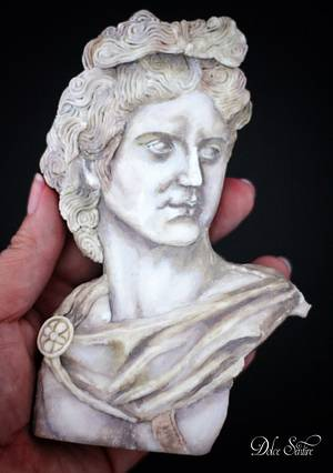 Apollo- Cookie Statue by Dolce Sentire - Cake by Dolce Sentire