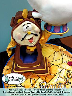 Beauty & The Beast Competition Cake - Cake by TrulyCustom