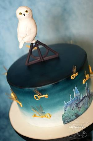Hogwarts Challenge 50th Birthday Cake 2 - Cake by Heather McGrath