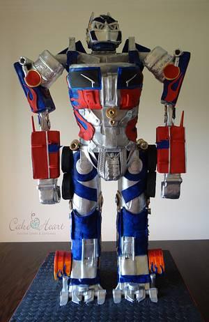 Optimus Prime - Cake by Cake Heart