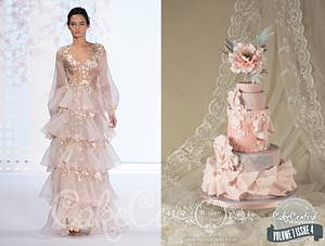 Ralph & Russo inspired cake - Cake Central Magazine Fashion Issue - Cake by Rococo Cakes