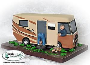 Motorhome Cake - Cake by TrulyCustom