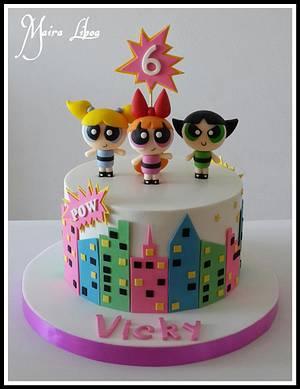 Powerpuff girls - Cake by Maira Liboa